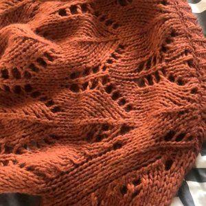 Oversized Sweater in Pumpkin Spice/Nutmeg